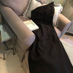 Stunning one shoulder evening dress